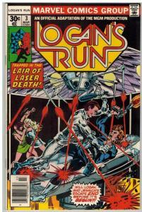 LOGANS RUN 3 FN Mar. 1977