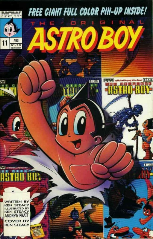 Original Astro Boy, The #11 VF/NM; Now | save on shipping - details inside