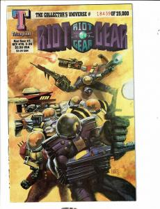 6 Comics Riot Gear 1 Syphons 2 Ogre 1 Soul 1 War Worlds 2 Shadow Death 1 J309