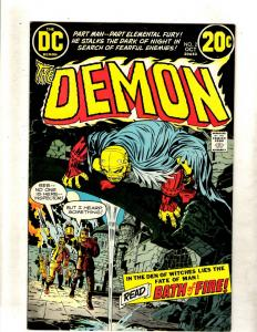 The Demon # 2 FN/VF DC Bronze Age Comic Book Jack Kirby Fourth World FM2
