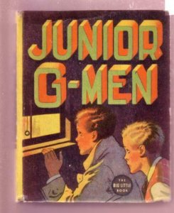 JUNIOR G-MEN, COUNTERFEITERS, MORREL MASSEY, #1442 BLB FN/VF