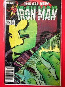 THE ALL NEW IRON MAN V1 #179 1983 MARVEL / NEWSSTAND / MID-GRADE QUALITY+