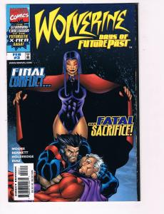 Wolverine Days Of Future Past # 3 NM Marvel Comics X-Men Wolverine Magneto B98