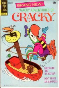 WACKY ADVENTURES OF CRACKY 1 FINE  December 1972 COMICS BOOK