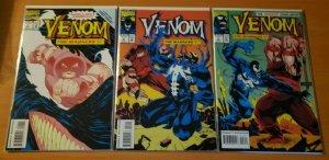 Venom The Madness 1-3 Complete Set Run! ~ NEAR MINT NM ~ 1993 Marvel Comics