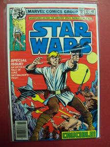 STAR WARS #17 STANDARD 35 CENT SQUARE PRICE BOX (VF/NM 9.0 OR BETTER)