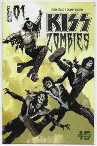 Kiss Zombies #1 Cvr A Suydam (Dynamite, 2019) NM