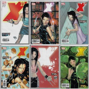 X-23 #1-6 (Marvel, 2005) NM average