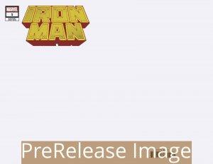 IRON MAN (2020 MARVEL) #1 VARIANT BLANK PRESALE-09/16