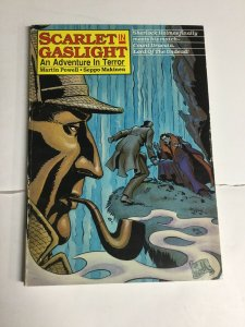 Scarlet In Gaslight Vf Very Fine 8.0 Tpb Sc Softcover Sherlock Holmes