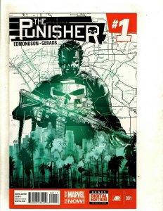 Lot Of 10 Punisher Marvel Comic Books # 1 2 3 4 5 6 7 8 9 10 Edmondson RP6