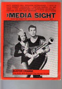 Media Sight-Summer 1983-Buster Crabbe-W.C. Fields-Bill Woggon-Capt Marvel_VG
