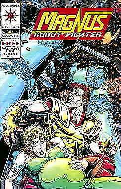 Magnus Robot Fighter (Valiant) #36 VF/NM; Valiant | save on shipping - details i