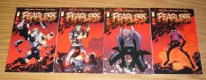 Fearless #1-4 VF/NM complete series - image comics set lot 2 3 - mark sable