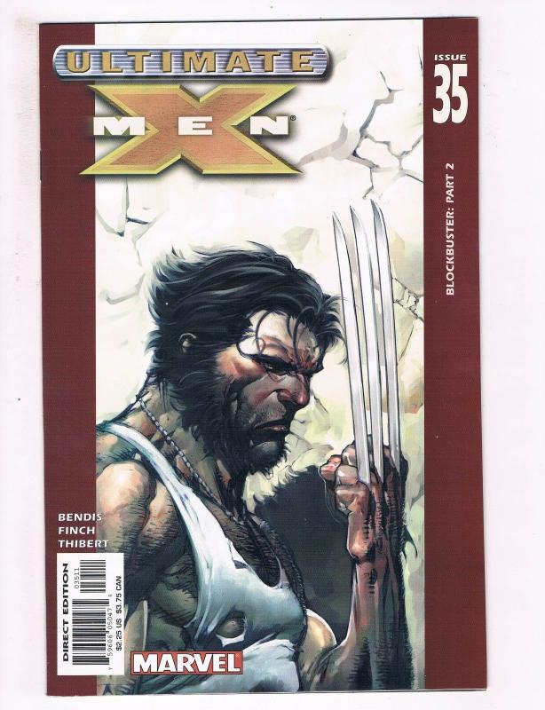 Ultimate X-Men # 35 VF/NM Marvel Comic Books Wolverine Magneto Cyclops Beast SW7