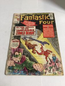 Fantastic Four 31 Fr/Gd Fair/Good 1.5 Extra Staples Marvel Comics Silver Age
