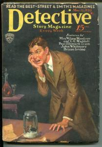 DETECTIVE STORY 3/15/1930-MYSTERY & CRIME PULP-BUTTERFLY-WEIRD-vg