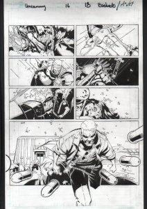 Uncanny X-Men #16 Page 18 Original Comic Book Art - Chris Bachalo
