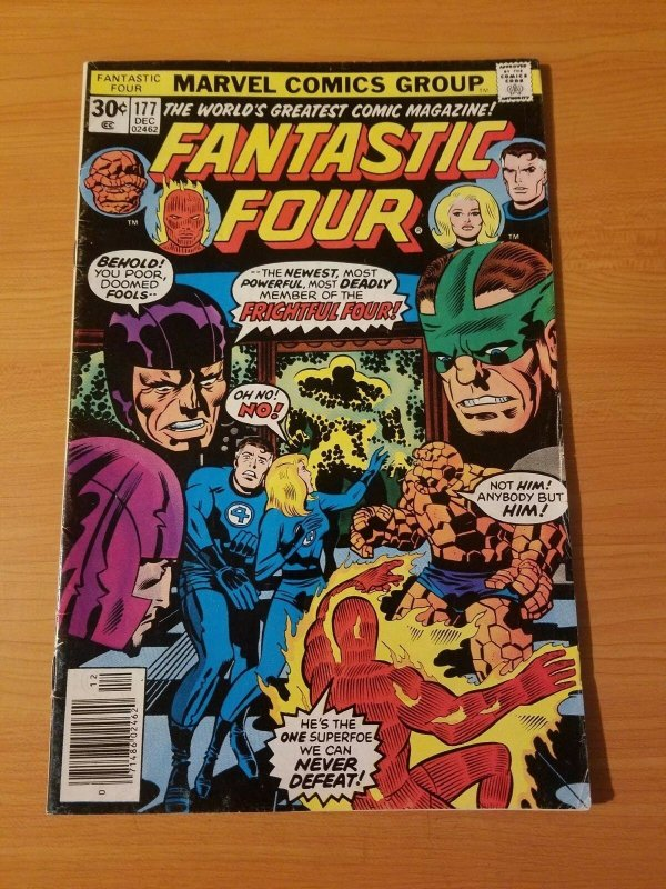 Fantastic Four #177 ~ FINE - VERY FINE VF ~ 1976 MARVEL COMICS