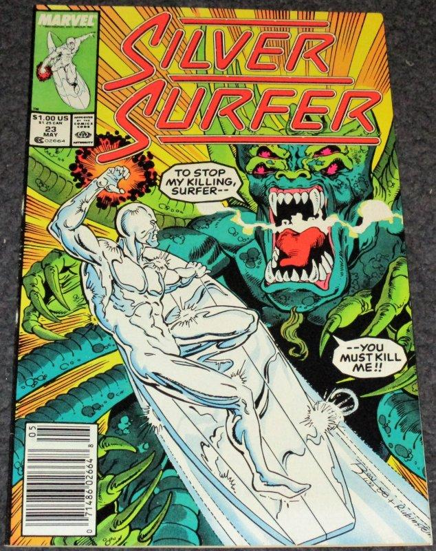Silver Surfer #23 -1989