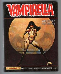 Vampirella Archives-Volume 1-#1-7-Frazetta-Terri Abrahms-Hardcover