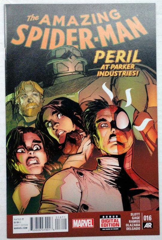 Amazing Spider-Man #16 (NM+, 2015)