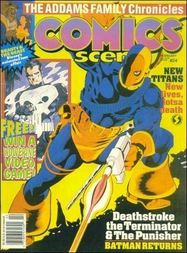 Comics Scene (Vol. 2) #24 FN; Starlog | save on shipping - details inside