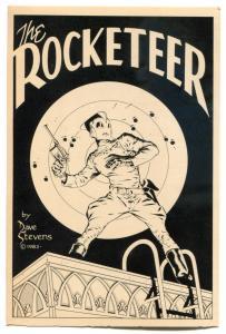 DAVE STEVENS Postcard, ROCKETTER, 1982, more in store