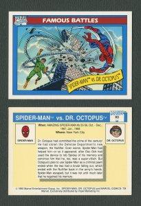 1990 Marvel Comics Card  #93 (Spiderman/Doc Ock) / MINT