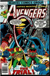 Avengers #160, 7.0 or Better - Grimm Reaper Appearance