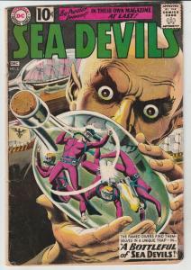 Sea Devils #2 (Dec-61) VG/FN Mid-Grade Sea Devils (Dane Dorrence, Biff Bailey...