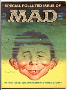 Mad Magazine #146 1971- Special POLLUTED issue VG/F