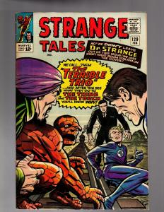 STRANGE TALES 129 VERY GOOD-FINE    February 1965