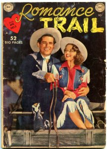 ROMANCE TRAIL-#5-KINSTLER ART-D.C. golden age western VG
