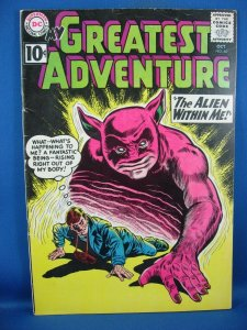 My Greatest Adventure #60 (Oct 1961, DC) F