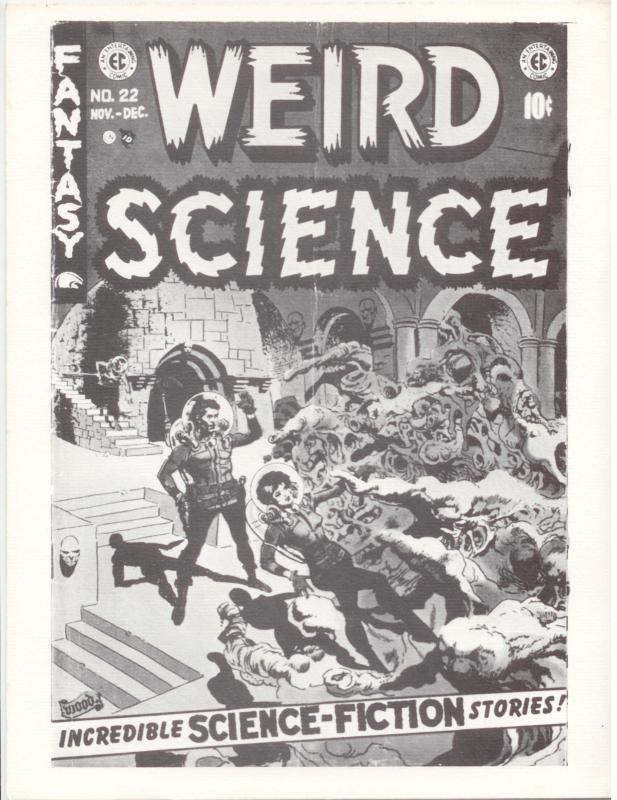 Comic Fanzine: Fantastic Exploits 19 FSCA EC Comics - WOOD Williamson FRAZETTA