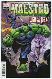 Maestro War & Pax # 1 Frank Hidden Gem 1:50 Variant Cover NM Marvel