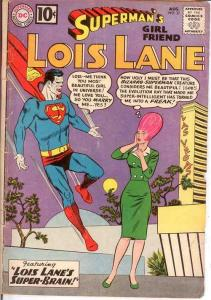 LOIS LANE 27 GOOD   August 1961 COMICS BOOK