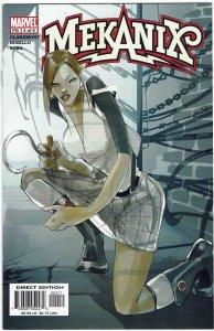 Mekanix #4 Chris Claremont Kitty Pryde NM
