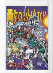 Stormwatch #3 Image Comics Jim Lee Story and Trevor Scott Art NM/M