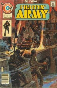 Fightin' Army #122, Fine (Stock photo)