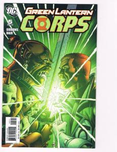 Green Lantern Corps # 5 DC Comic Books Awesome Issue Modern Age WOW!!!!!!!!! S24
