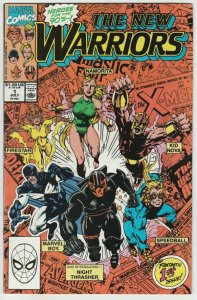New Warriors, The # 1 Strict VF/NM 1st Firestar, Namorita, Kid Nova, Speedball