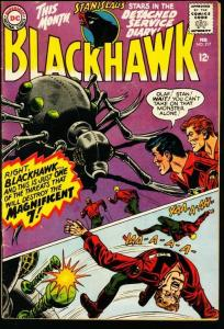 BLACKHAWK #217-DC-GIANT INSECT COVER FN