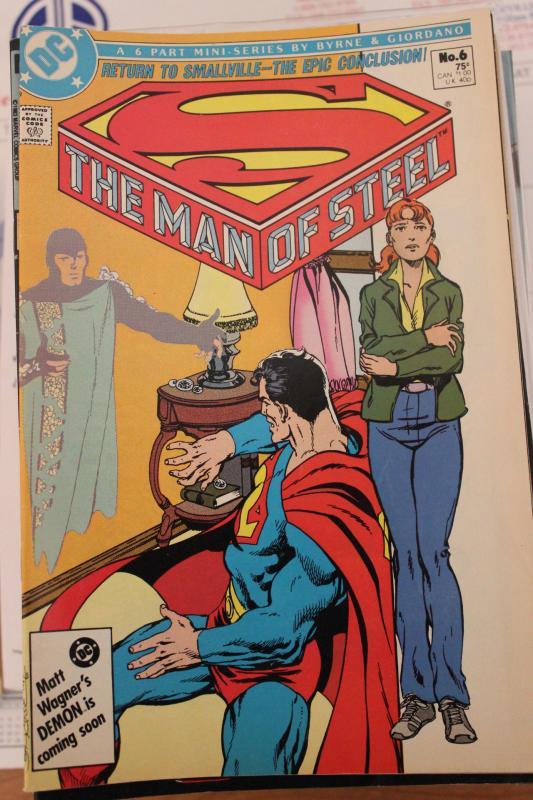 Man of Steel 6 Part Mini Series  #6 VF