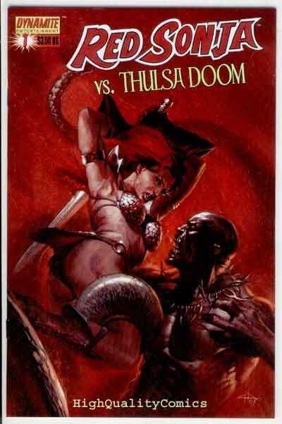 RED SONJA vs THULSA DOOM #1, NM-, She-Devil, Sword, more in store