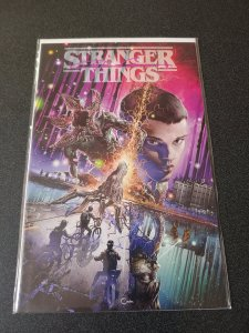 STRANGER THINGS #1 SCORPION COMICS VARIANT SIGNED BY CLAYTON CRAIN WITH COA