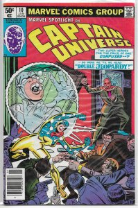 Marvel Spotlight   vol. 2   #10 FN Captain Universe