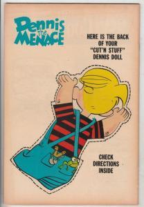 Dennis the Menace #100 (Jan-69) VF- High-Grade Dennis