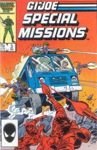 G.I. JOE Special Missions #3 Marvel Comics (ungraded) stock photo / ID#B-4 / 001